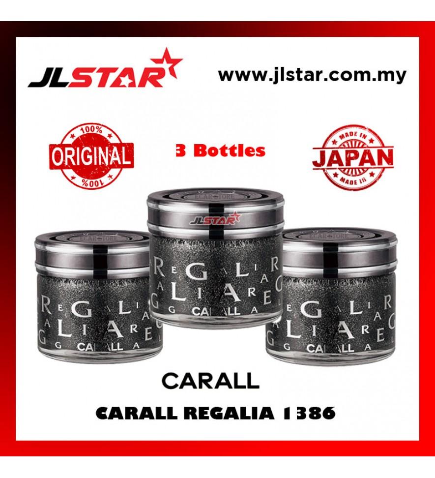 3 X 100% ORIGINAL CARALL REGALIA ENRICH 1386 VELVET MUSK CAR PERFUME AIR FRESHENER 65ML