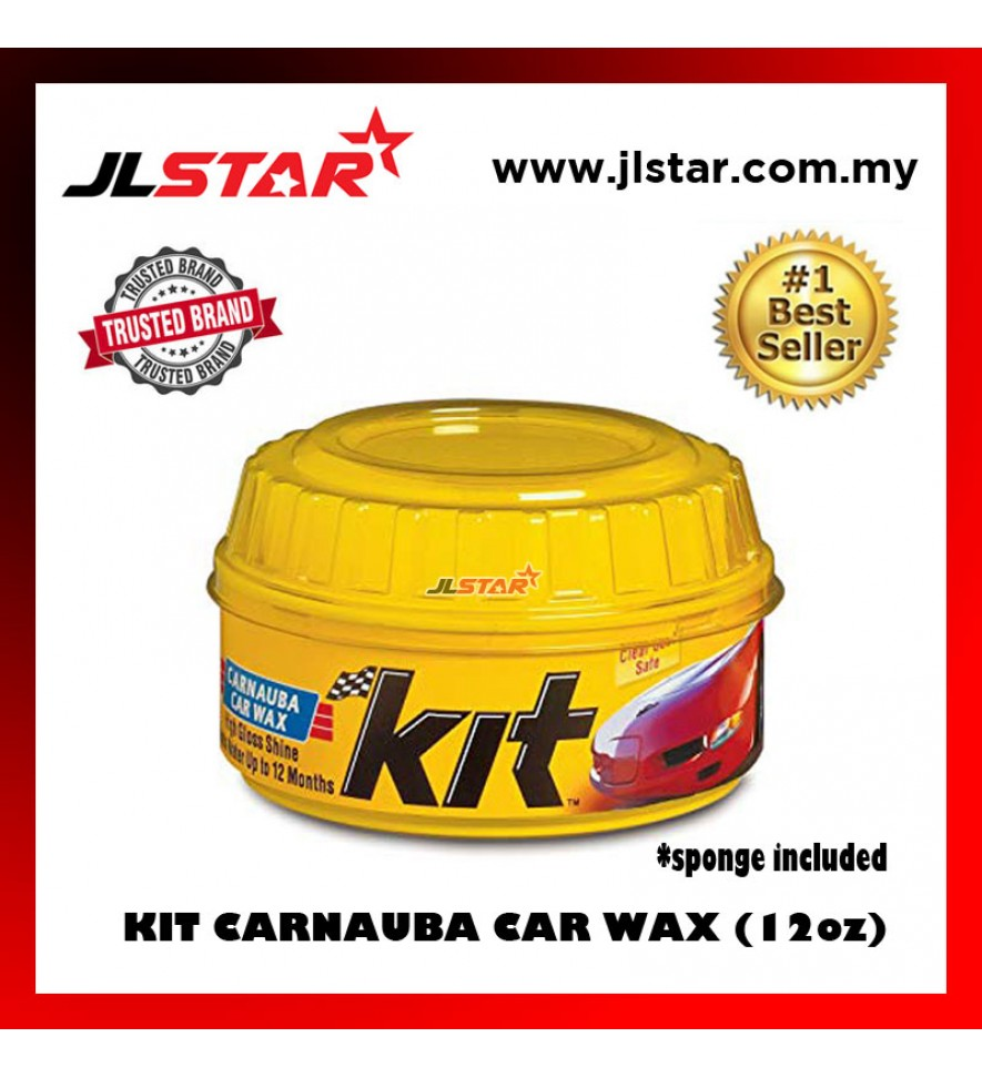 KIT CARNAUBA CAR PASTE WAX SOFT COATING WAX CLEANER PASTE WAX