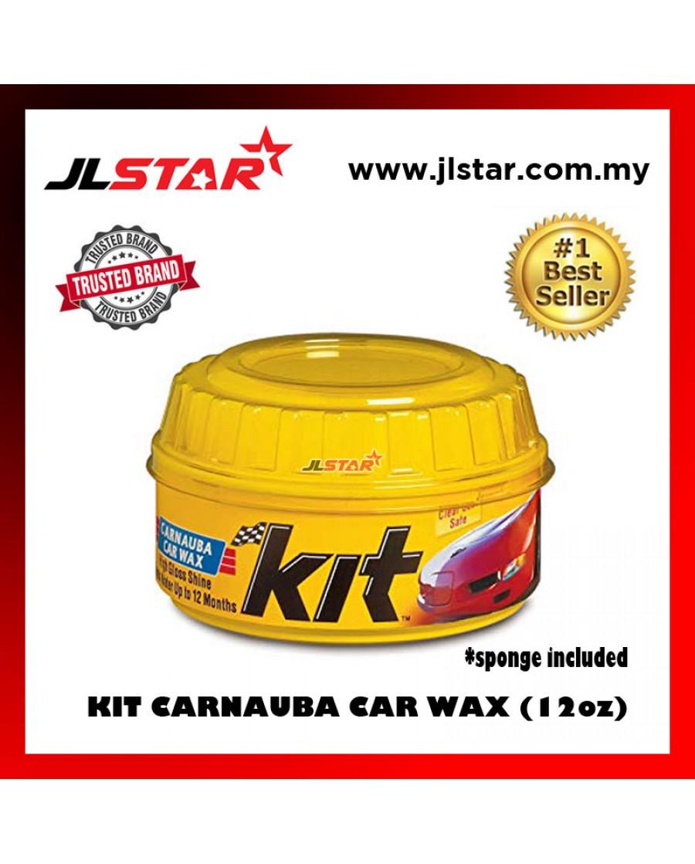 KIT CARNAUBA CAR PASTE WAX SOFT COATING WAX CLEANER PASTE WAX