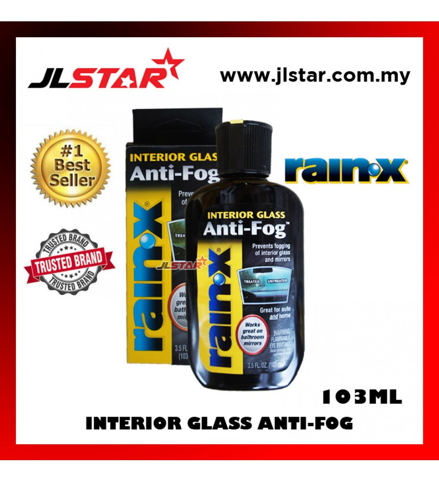 RAIN-X ORIGINAL INTERIOR GLASS ANTI FOG 103ML