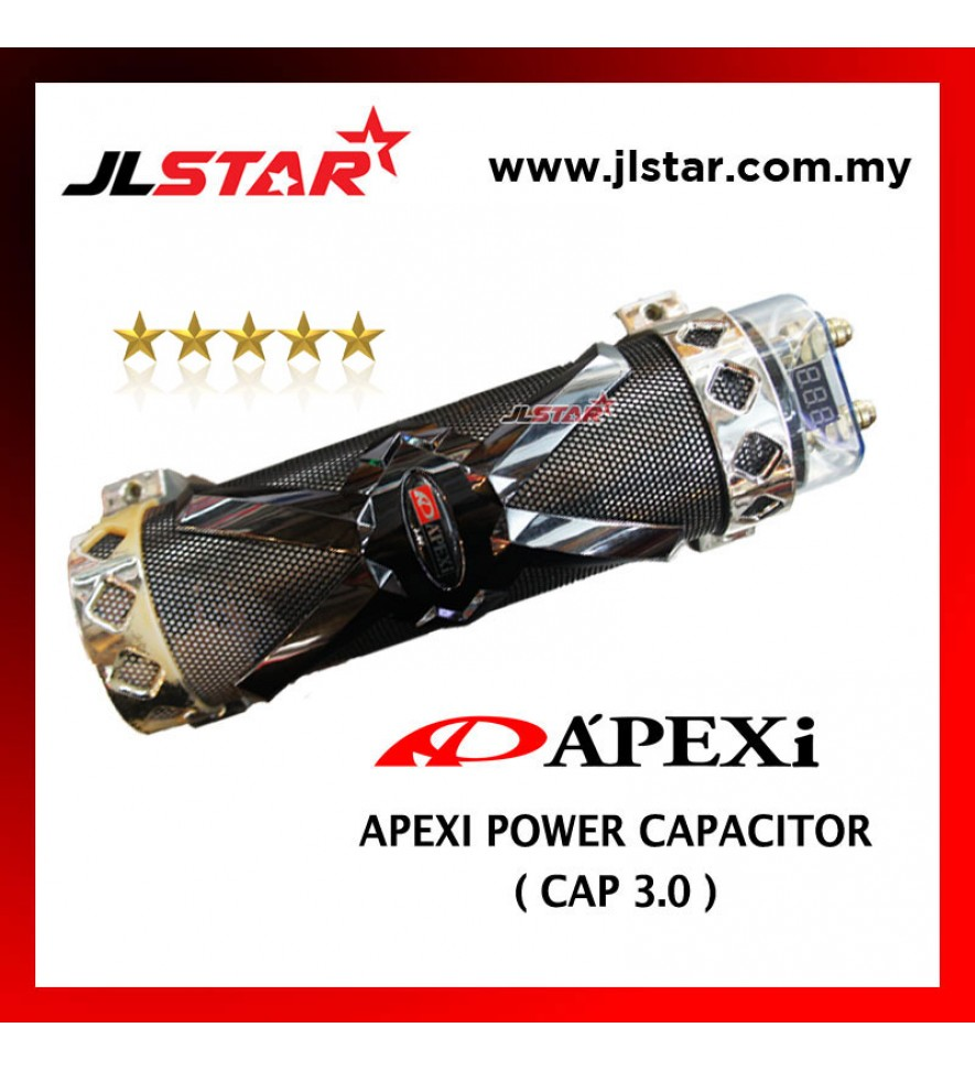 POWER CAPACITOR APEXI POWER CAPACIOR 3.0 FARAD