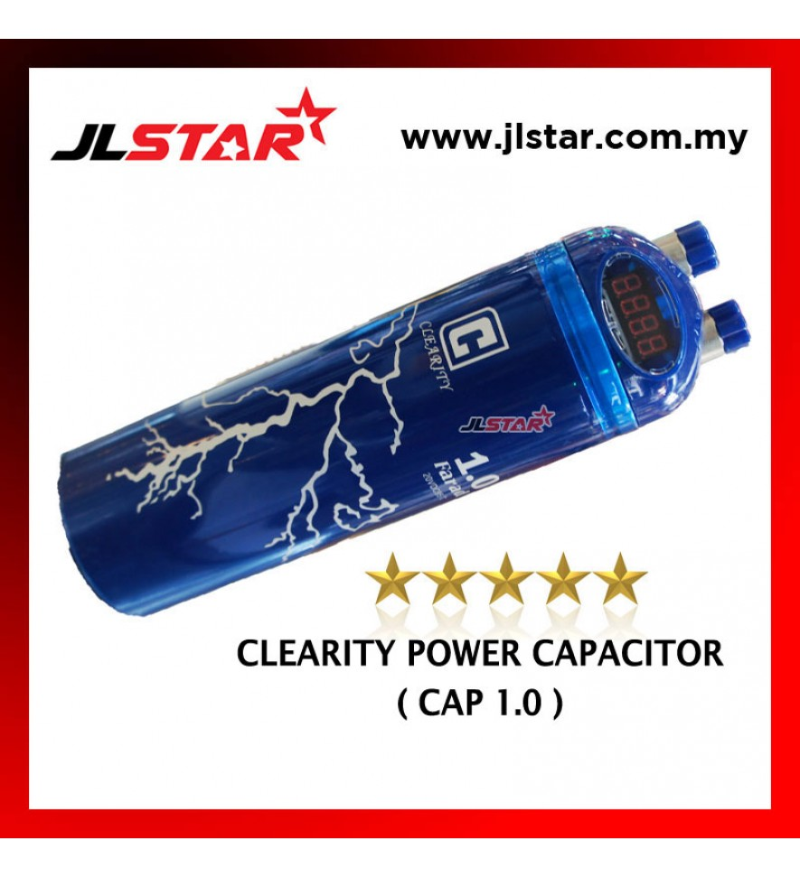 CLEARITY POWER CAPACITOR (CAP1.0) 1.0 FARAD