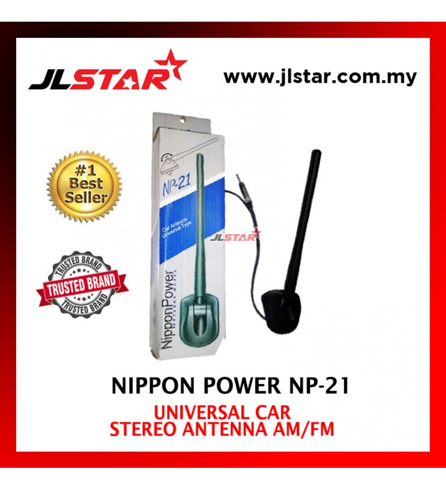 NIPPON POWER NP-21 REPLACEMENT CAR STEREO ANTENNA AM / FM