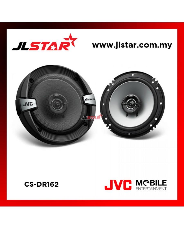 "JVC CS-DR162 16cm (6.1/2"") 2-Way Coaxial Car Speakers"
