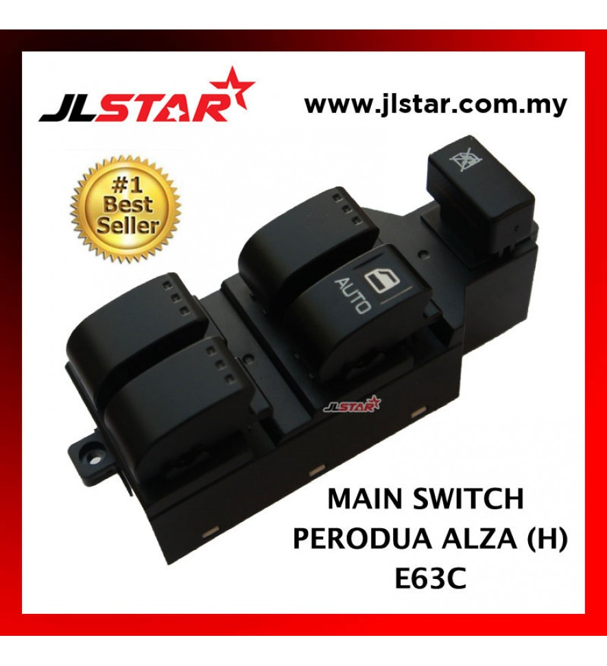 POWER WINDOW MAIN SWITCH PARTS FOR PERODUA ALZA