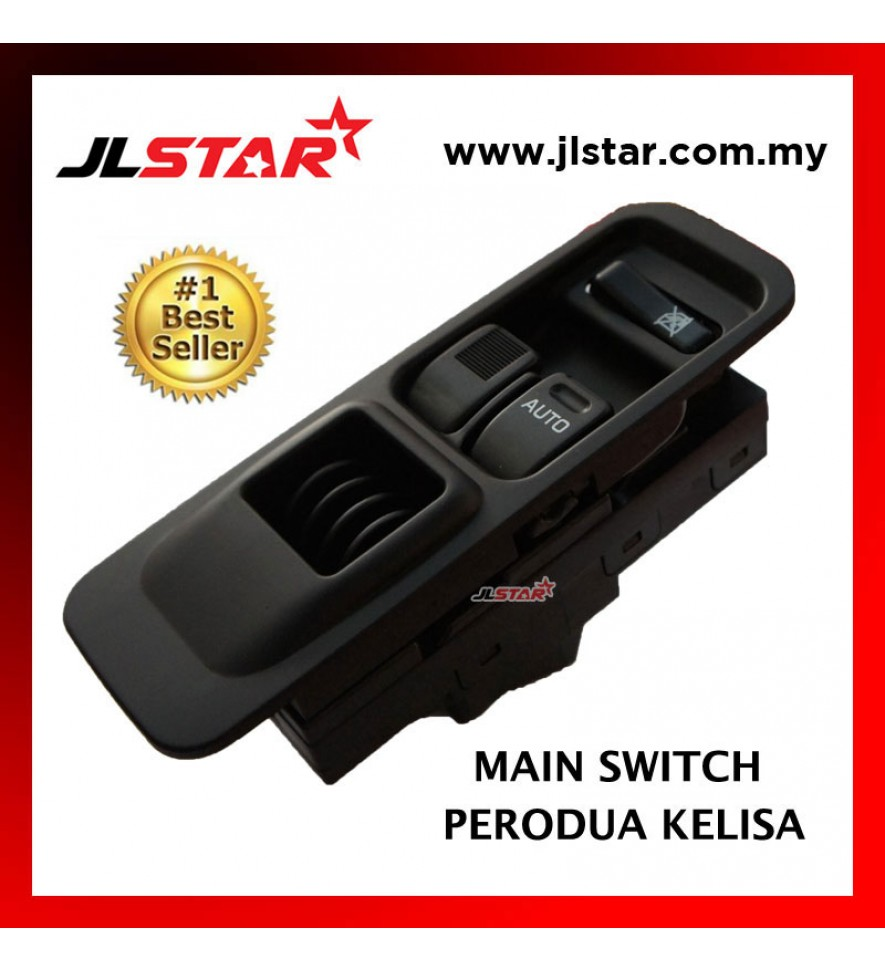 POWER WINDOW MAIN SWITCH PARTS FOR PERODUA KELISA