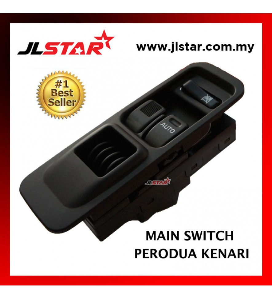 POWER WINDOW MAIN SWITCH PARTS FOR PERODUA KENARI