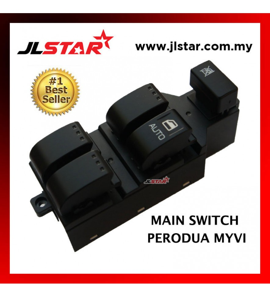 POWER WINDOW MAIN SWITCH PARTS FOR PERODUA MYVI