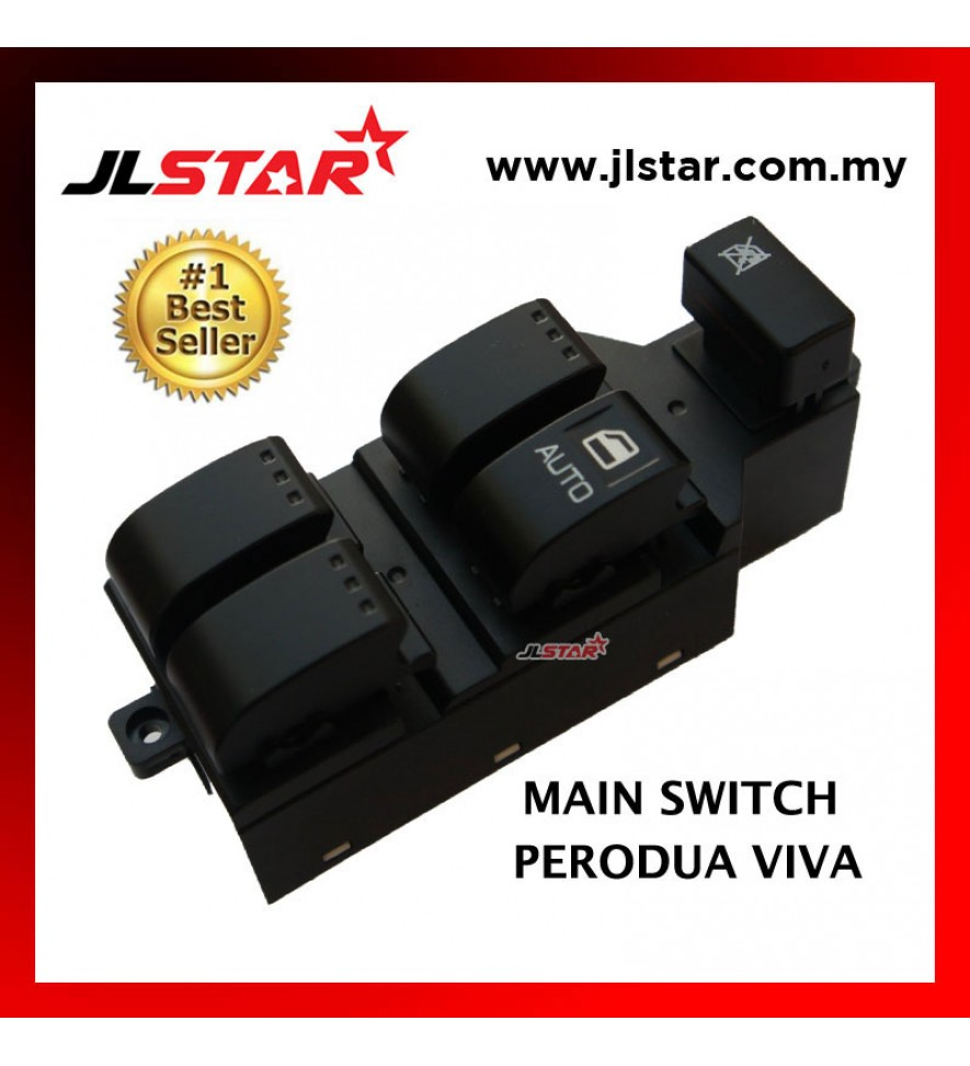 POWER WINDOW MAIN SWITCH PARTS FOR PERODUA VIVA