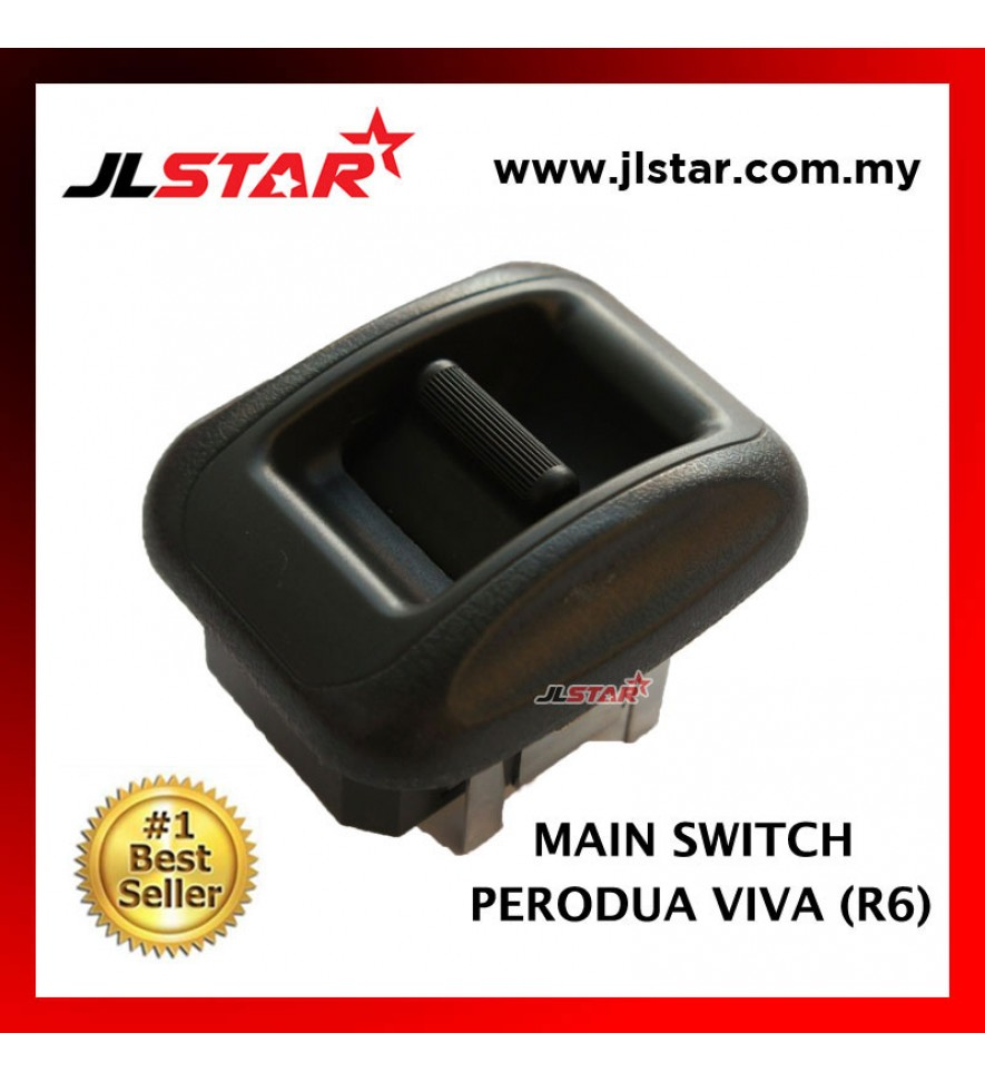 POWER WINDOW MAIN SWITCH PARTS FOR PERODUA VIVA R6 SMALL SWITCH