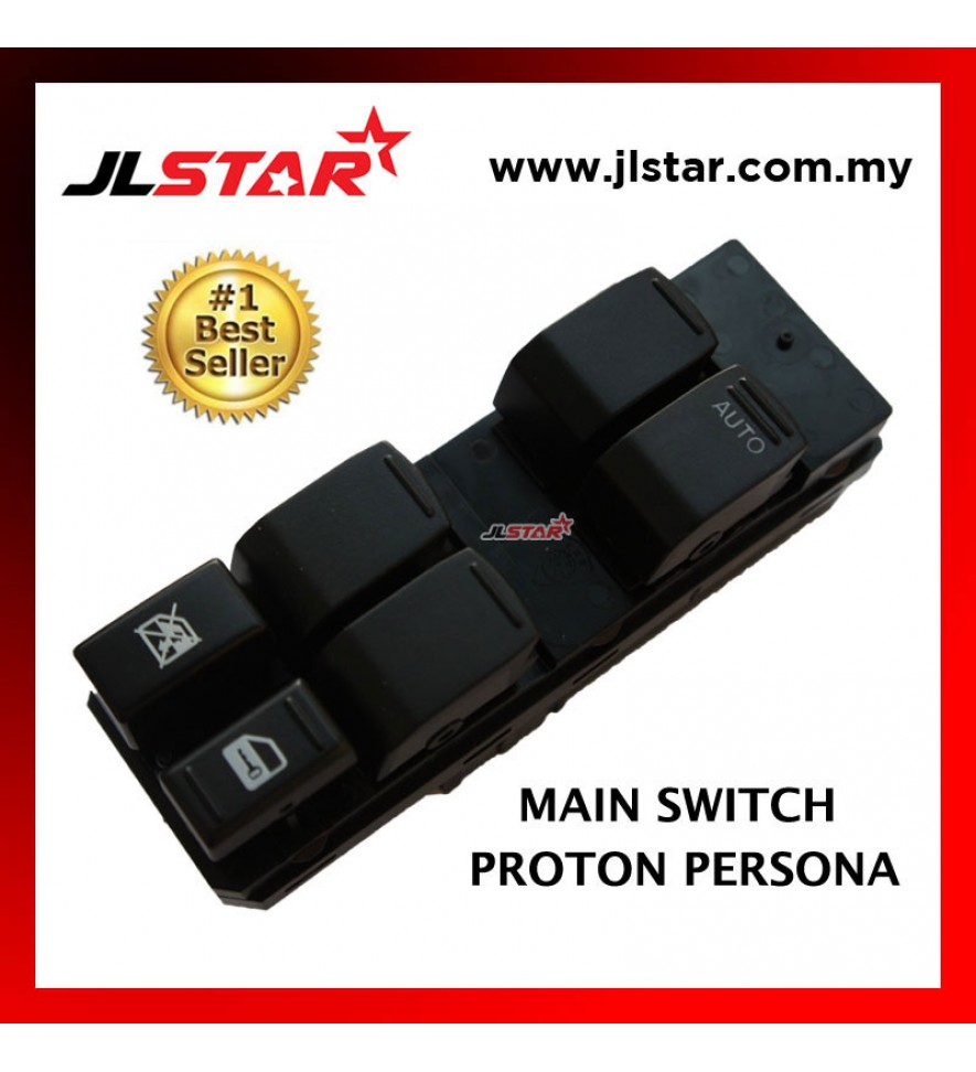 POWER WINDOW MAIN SWITCH PARTS FOR PROTON PERSONA