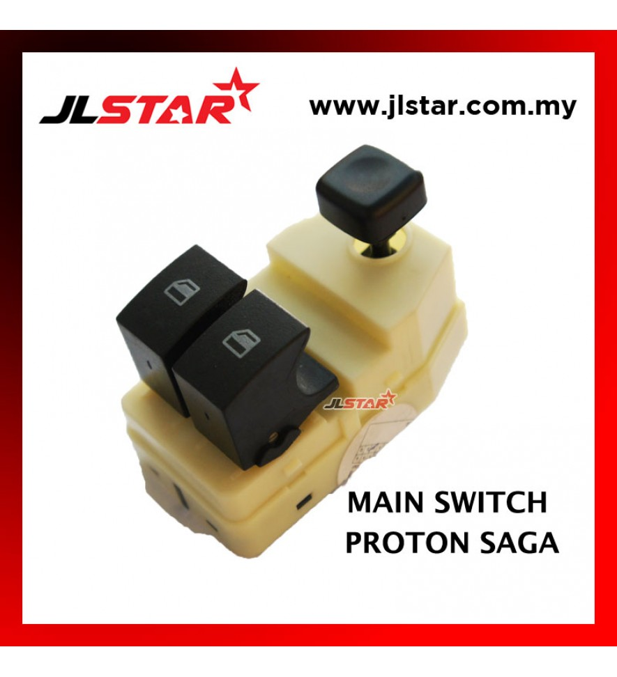 POWER WINDOW MAIN SWITCH PARTS FOR PROTON SAGA BLM