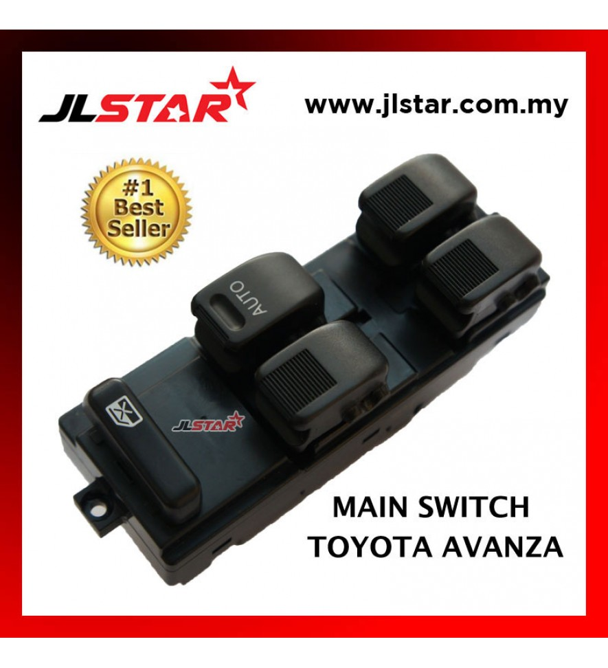 POWER WINDOW MAIN SWITCH PARTS FOR TOYOTA AVANZA