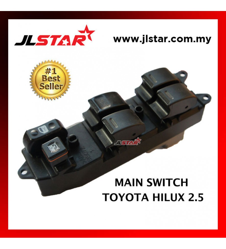 POWER WINDOW MAIN SWITCH PARTS FOR TOYOTA HILUX 2.5