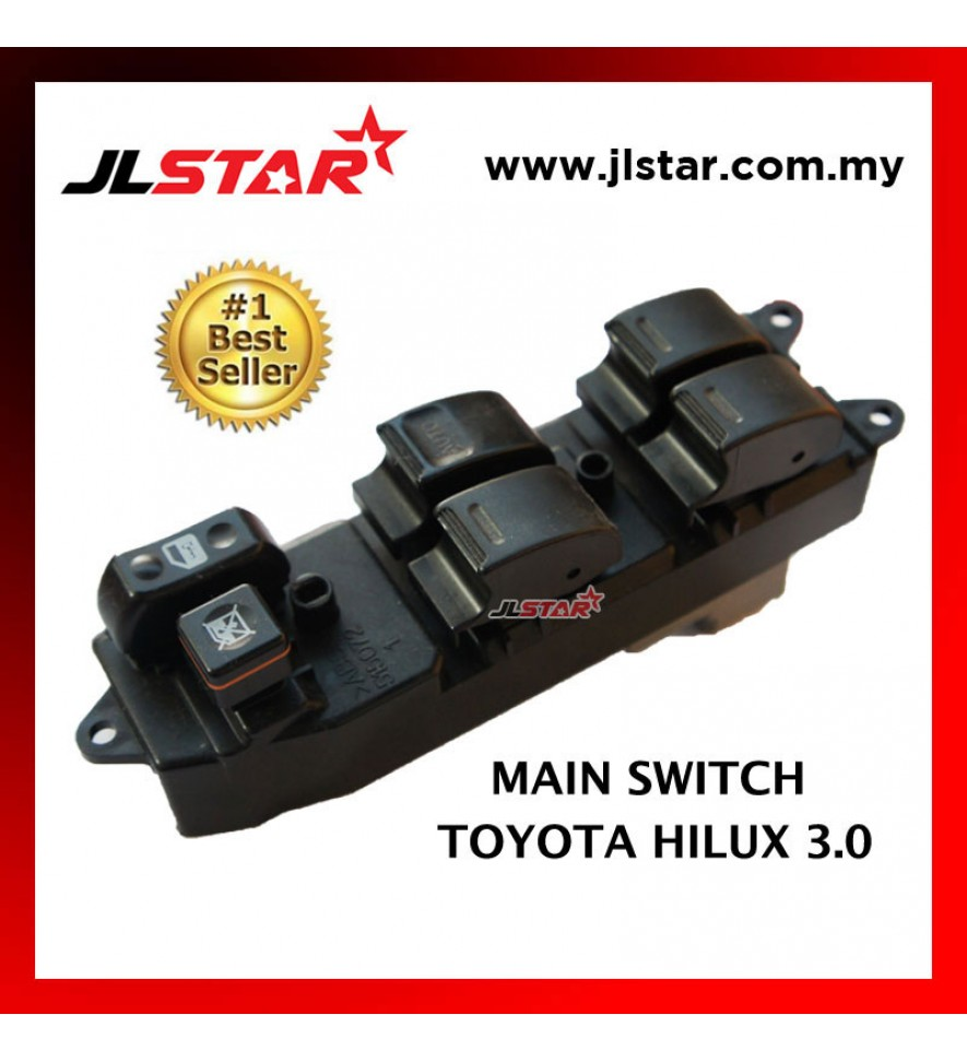 POWER WINDOW MAIN SWITCH PARTS FOR TOYOTA HILUX 3.0