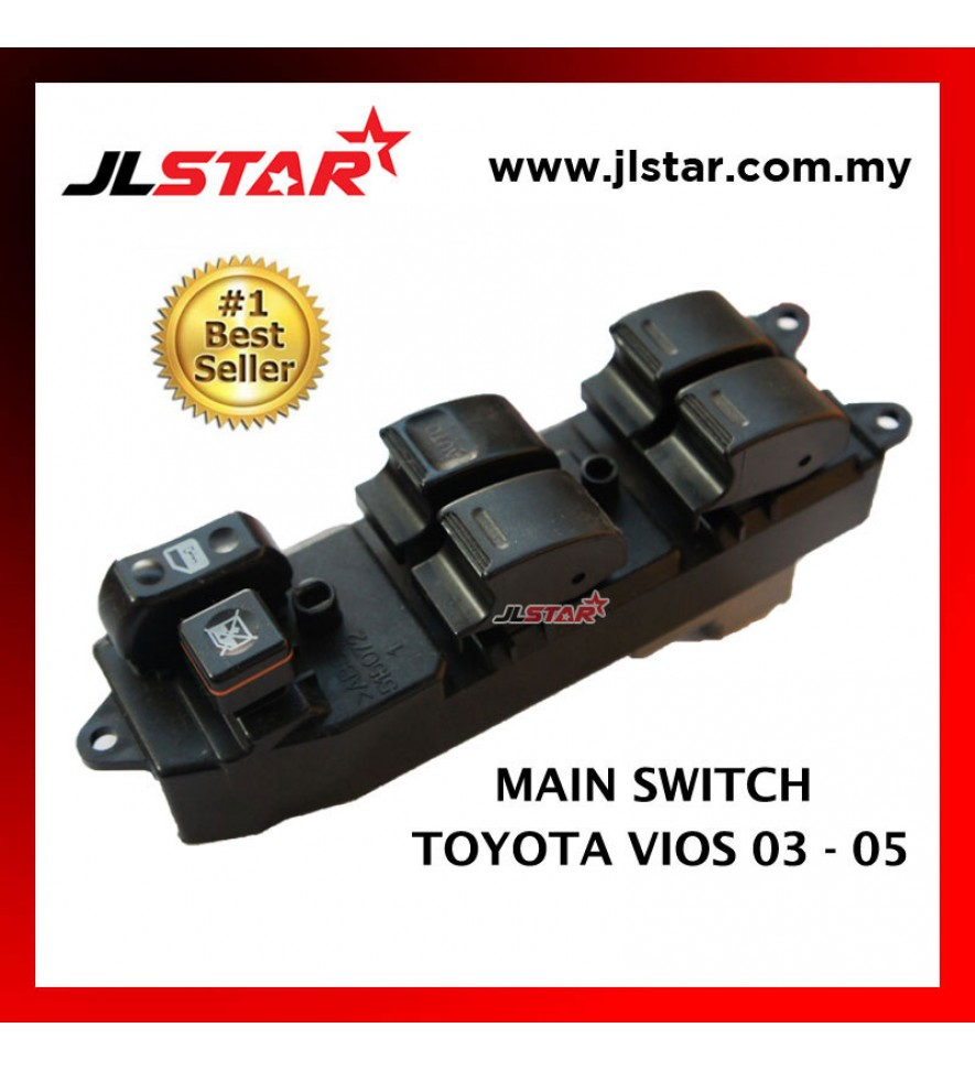 POWER WINDOW MAIN SWITCH PARTS FOR TOYOTA VIOS 03-05