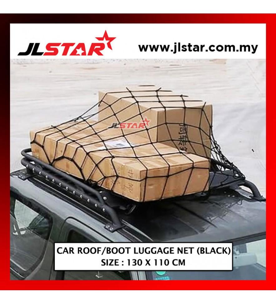 CAR PARCEL LUGGAGE NET 130 X 110 CM REAR TRUNK CARGO HEAVY DUTY WEB STORAGE