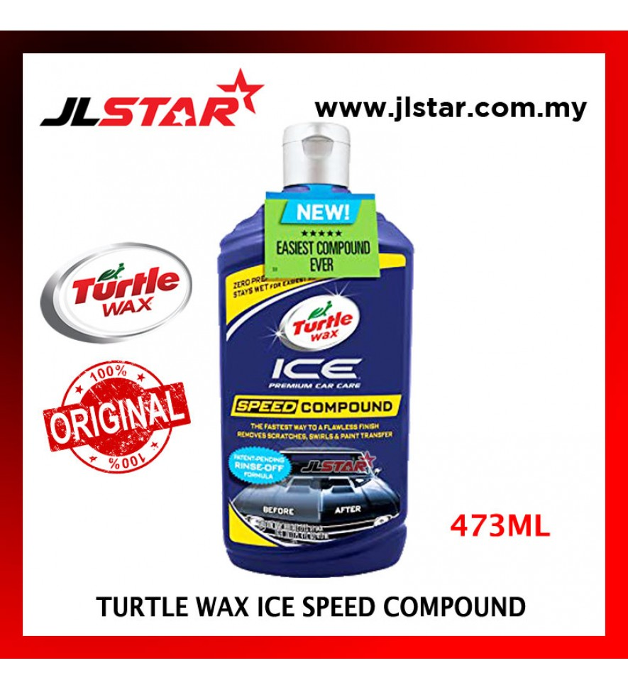 100% ORIGINAL TURTLE WAX ICE SPEED COMPOUND 473ML