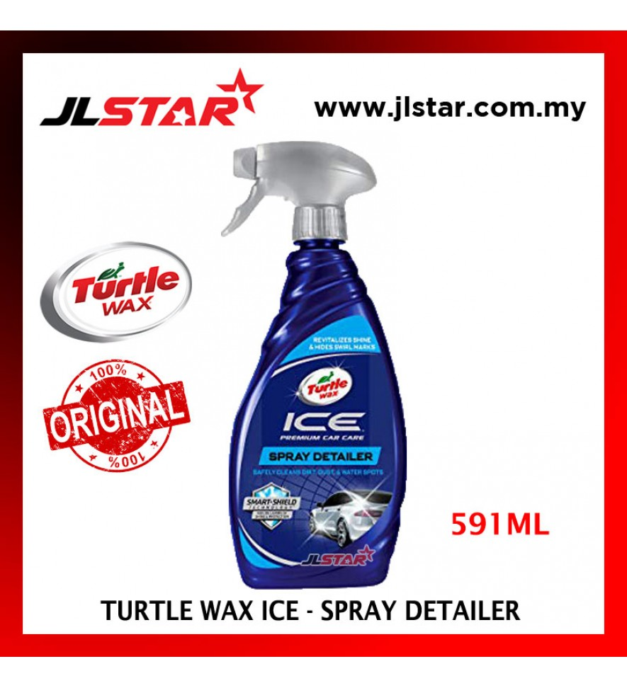 100% ORIGINAL TURTLE WAX ICE SPRAY DETAILER TI470R 591ML