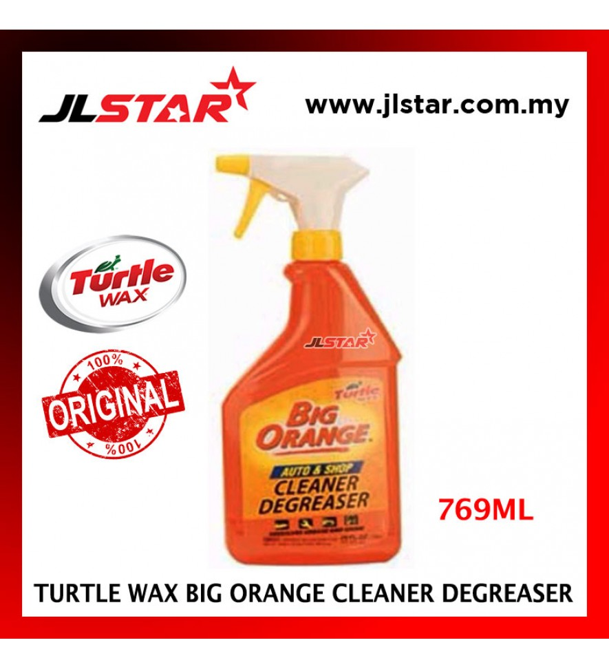 100% ORIGINAL TURTLE WAX HEAVY DUTY BIG ORANGE MULTIPURPOSE CLEANER DEGREASER T-439 (769ML)