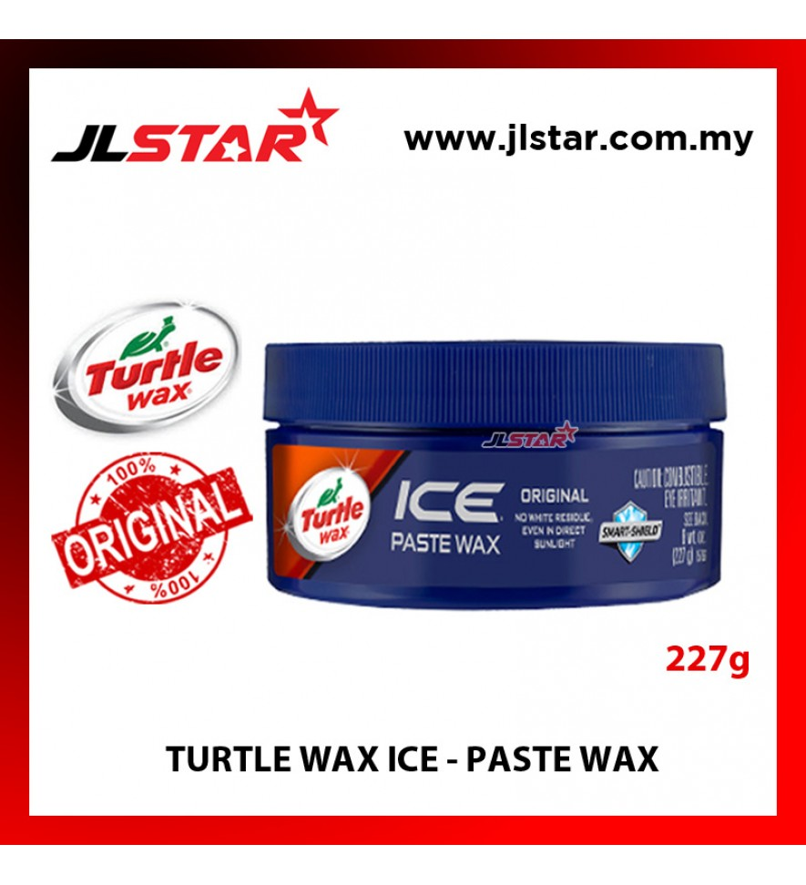 100% ORIGINAL TURTLE WAX ICE PASTE WAX TI-465R (227G)