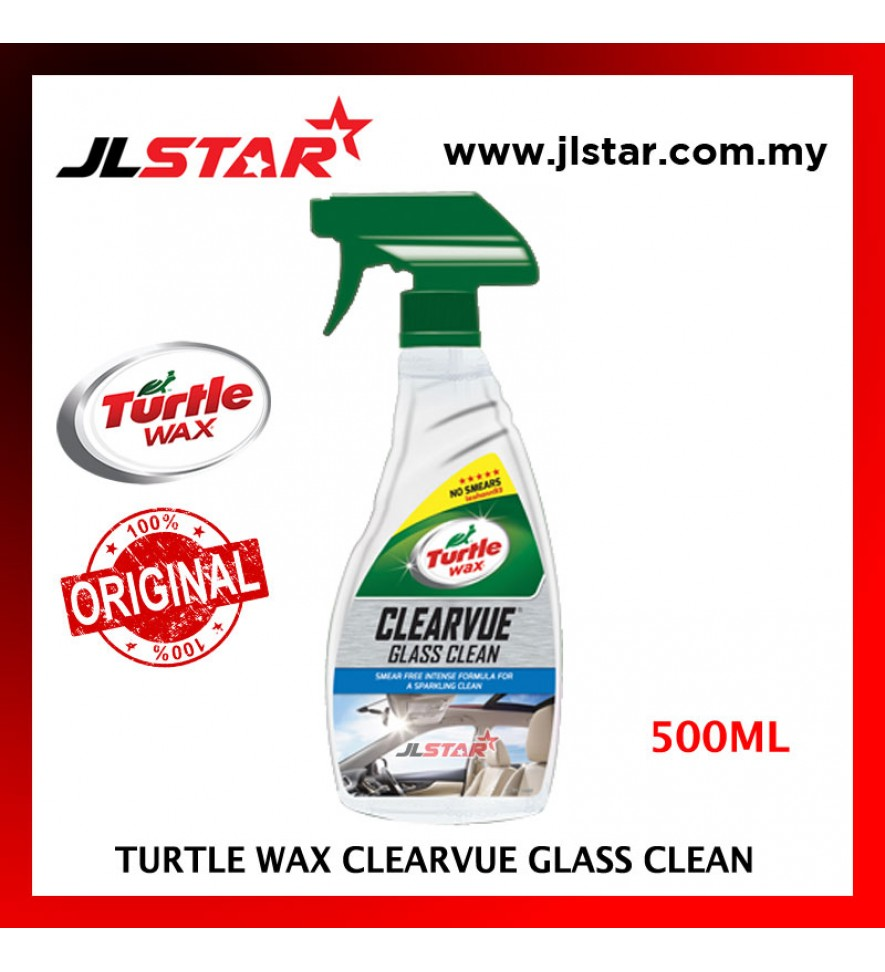 100% ORIGINAL TURTLE WAX CLEARVUE GLASS CLEAN T7413 (500ML)
