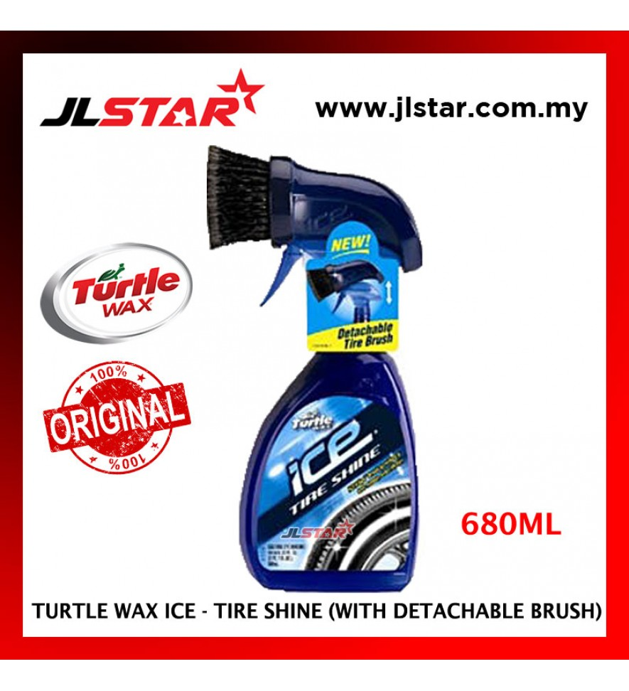 100% ORIGINAL TURTLE WAX ICE PREMIUM CARE TIRE SHINE TI-476 (680ML)